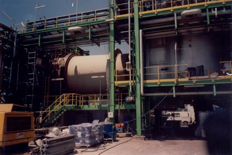 TEIDE REFRACTORY SOLUTIONS, S.L. Especializada en hornos rotativos de incineración para productos peligrosos y tóxicos.